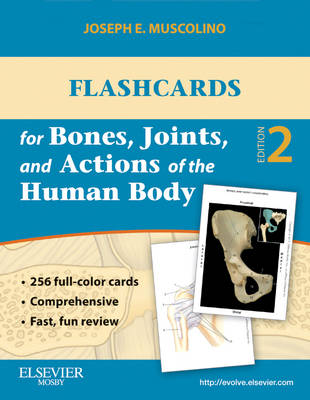 Flash Cards for Bones Joints abd Actions