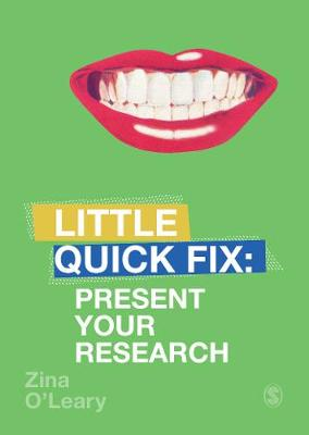 Present Your Research Little Quick Fix