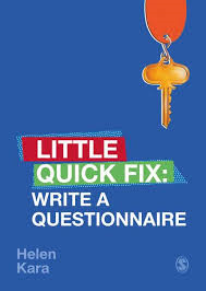 Write a Questionnaire Little Quick Fix