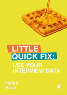 Use Your Interview Data Little Quick Fix